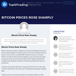 Bitcoin Prices Rose Sharply - Top10TradingPlatforms