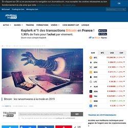 Bitcoin : les ransomwares à la mode en 2019 - Journal du Coin