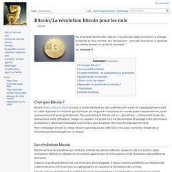 Bitcoin/La révolution Bitcoin pour les nuls — WikiUpLib