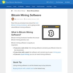 11 Best Bitcoin Mining Software 2018 (Mac, Windows, Linux)