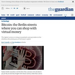Bitcoin: the Berlin streets where you can shop with virtual money
