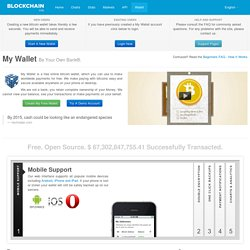 Bitcoin Wallet - Be Your Own Bank