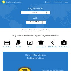 Buy Bitcoin Worldwide: 101+ Exchanges (Where and How to Buy)