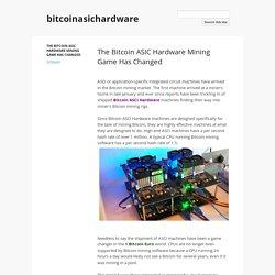 bitcoinasichardware