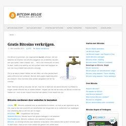 Gratis bitcoins verdienen - Bitcoin België