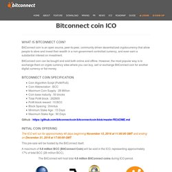 BitConnectCoin