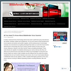 877-240-5577 Bitdefender Virus scanner Support