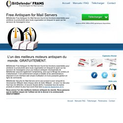 BitDefender FRAMS – Free Antispam for Mail Servers Linux