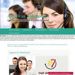 Bitdefender Antivirus Technical Support Services Online, Bitdefender Support