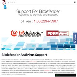 Bitdefender Antivirus Support