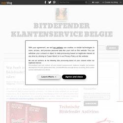 Wat heeft invloed op de prestaties van Bitdefender? Hulp nemen bij het oplossen van zaken - Bitdefender klantenservice Belgie