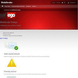 Bitdefender Safego - Anti-scam protection for you and your friends