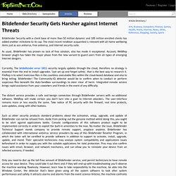 Bitdefender Security Gets Harsher against Internet Threats