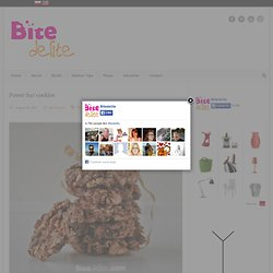 Power bar cookies | BiteDelite.com