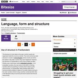 BBC Bitesize - GCSE English Literature - Language, form and structure - Revision 2
