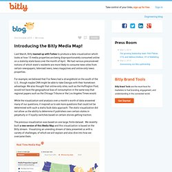 Introducing the Bitly Media Map!