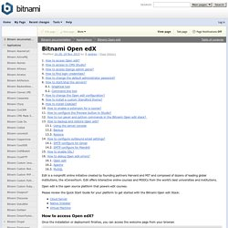 Bitnami Open edX