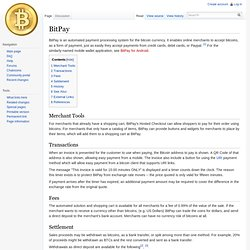 Application - Bitcoin Wiki