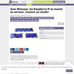 Avec Bitscope, les Raspberry Pi se muent en serveur, routeur ou cluster