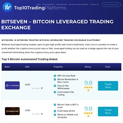BitSeven: Is Bitseven Trusted Bitcoin Leveraged Trading Platform?