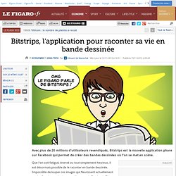 Bitstrips, l'application pour raconter sa vie en bande dessinée