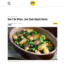 Don't Be Bitter, Just Cook Rapini Better
