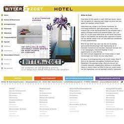 Bitter en Zoet Veenhuizen: Hotel