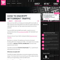 How To Encrypt BitTorrent Traffic · TorrentFreak, torrents and more