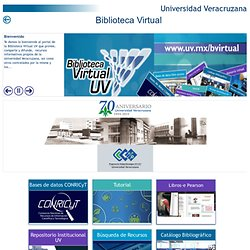 BiV UV - Biblioteca Virtual UV