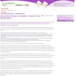BIVI MAITRISE RISQUES AFNOR 15/05/14 Une protéine à risques, un coupable, un sauveur et des approximations