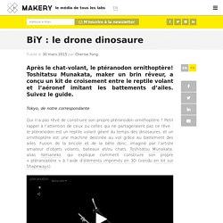 BiY : le drone dinosaure