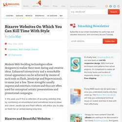 Bizarre Websites On Which You Can Kill Time With Style - Smashing Magazine - StumbleUpon