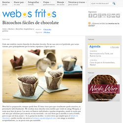 Bizcochos fáciles de chocolate