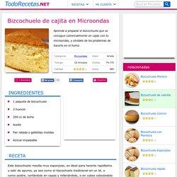 Receta de Bizcochuelo de cajita en Microondas - TodoRecetas.NET