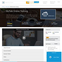 BizTalk Online Course from India