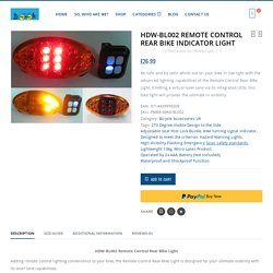 HDW-BL002 Bike Tail Light Laser