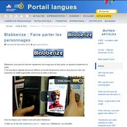 Blabberize : Faire parler les personnages