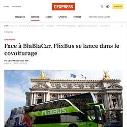 Face à BlaBlaCar, FlixBus se lance dans le covoiturage