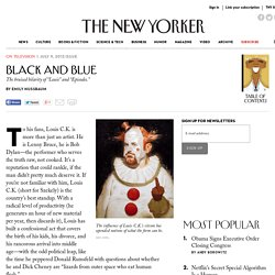 Black and Blue - The New Yorker