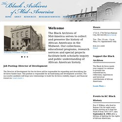 Black Archives of Mid-America Kansas City