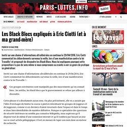 Les Black Blocs expliqués à Eric Ciotti (et à ma grand-mère)