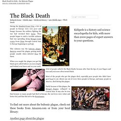 The Black Death (Bubonic Plague) - Middle Ages for Kids!