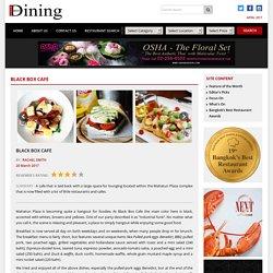 Black Box Cafe – Bangkok Best Dining