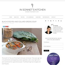 Black-Eyed Pea and Collard Greens Soup