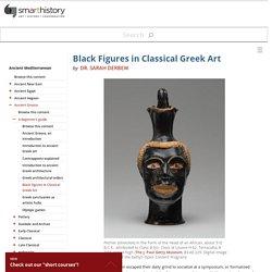 Black Figures in Classical Greek Art