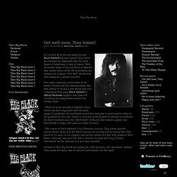 Thee Big Black - Black is thee new Black – Zine, blog, forum, music, films, books, life