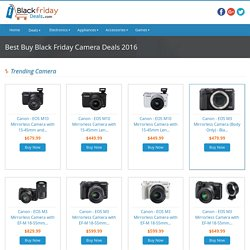Grab Cameras Black Friday Deals At Best Buy