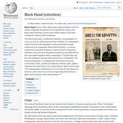 Black Hand (extortion)