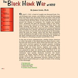 Black Hawk War of 1832