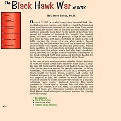 Black Hawk War of 1832